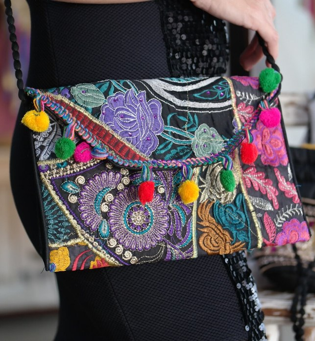 Bolsa De Tecido Hippie : Bolsa de tecido ladie