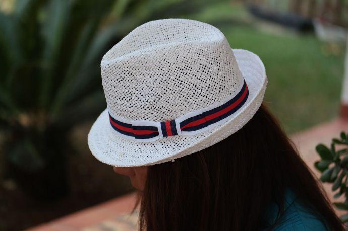 Chapéu de verão Fedorinha Marina