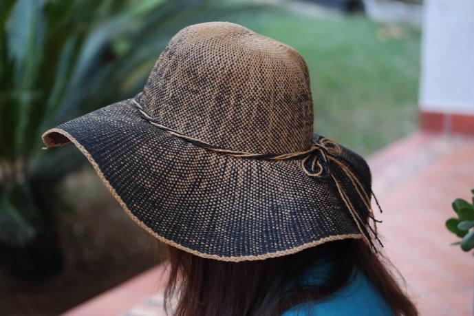 Chapéu de verão Ombré Hat
