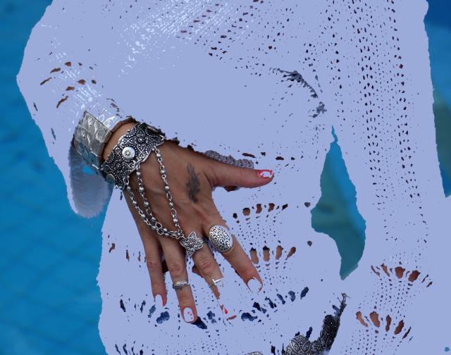 Pulseira com anel Jade