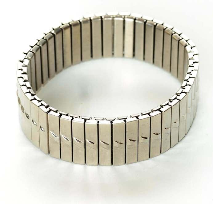 Pulseira Masculina de Aço Steel