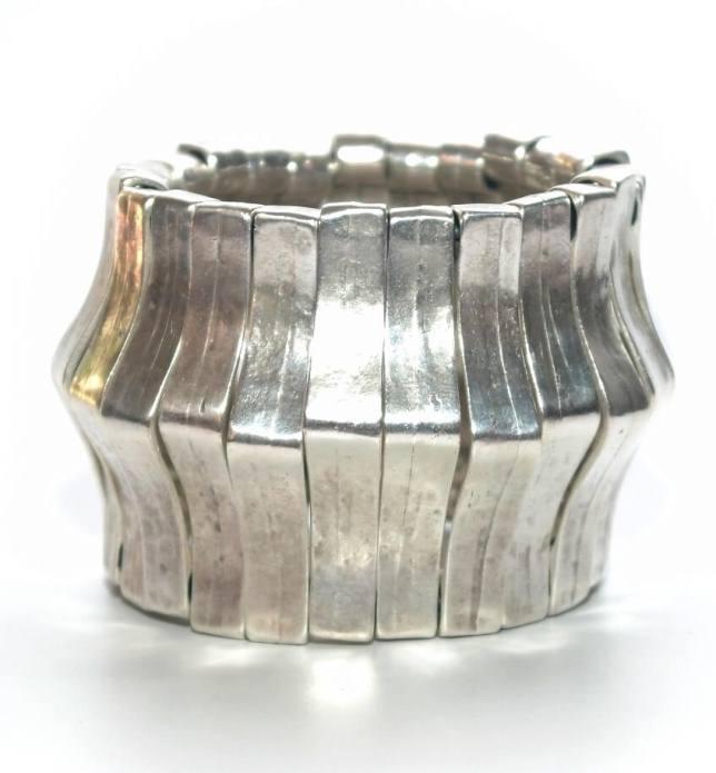 Pulseira prata Borax