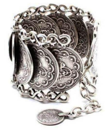 Pulseira prata Sultana