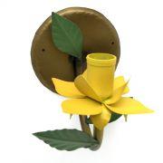 Arandela de Ferro de Parede para Quarto Artesanal com Flor