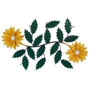 Arranjo De Flores Em Ferro Artesanal Sala De Estar Rustica
