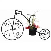 Suporte Para Vaso De Flor Bicicleta De Ferro Parede