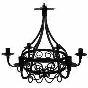 Luminária Preta Decorativa Rustica em Ferro e Lata Iluminação de Varanda