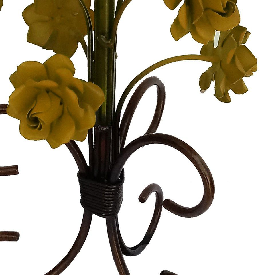 Abajur Quarto de Casal Artesanal de Ferro Decorativo Simples