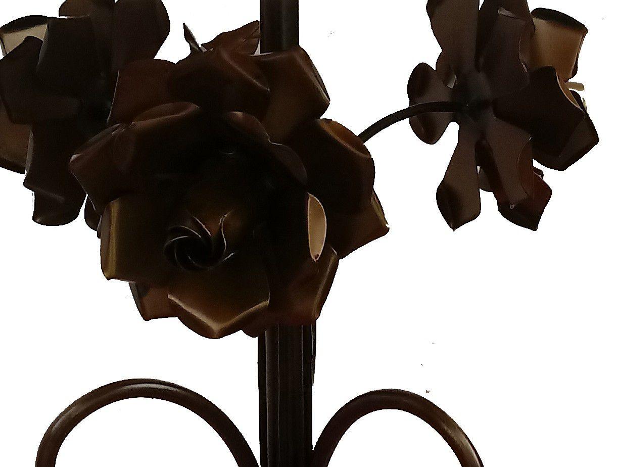 Abajur Quarto de Visita e Hotel Artesanal com Flores Fabricação Própria