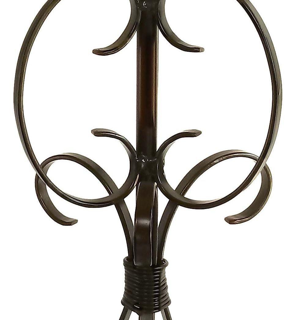 Abajur Rustico Artesanal de Ferro para Canto de Mesa Sala de Jantar