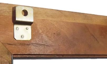 Quadro Rústico de Ferro e Madeira de Demolição Artesanal para Sala Margaridas Amarelas