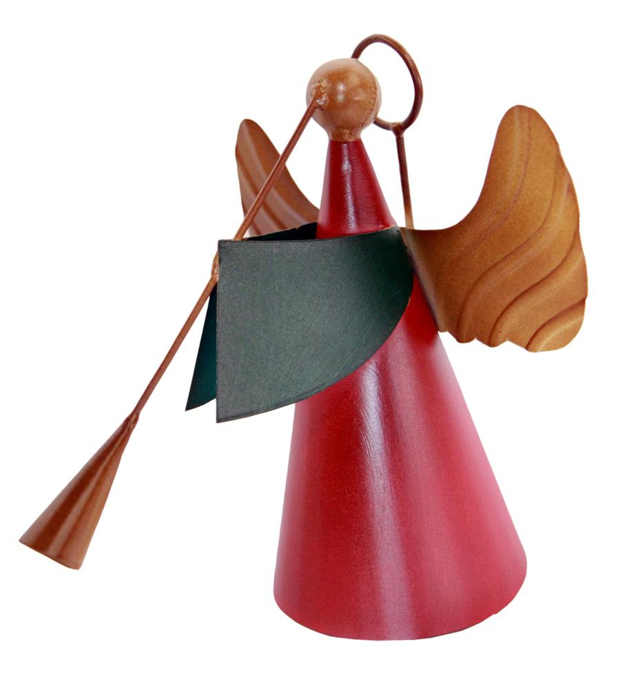 Anjo Decoração de Natal de Ferro Artesanal Rustico para Sala