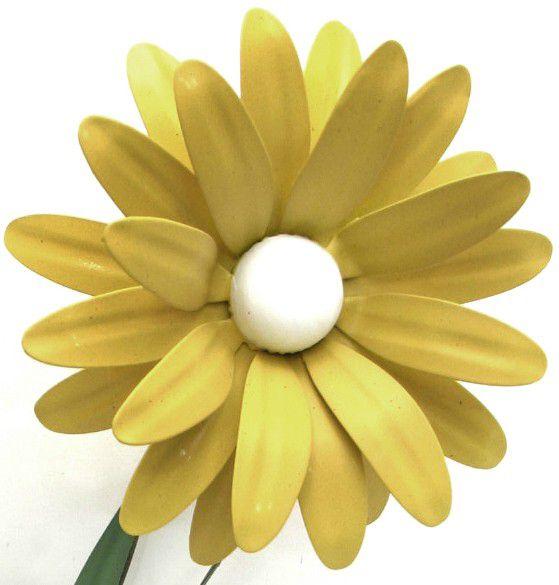 Arandela com Flor De Ferro Área Externa Artesanal Rustica