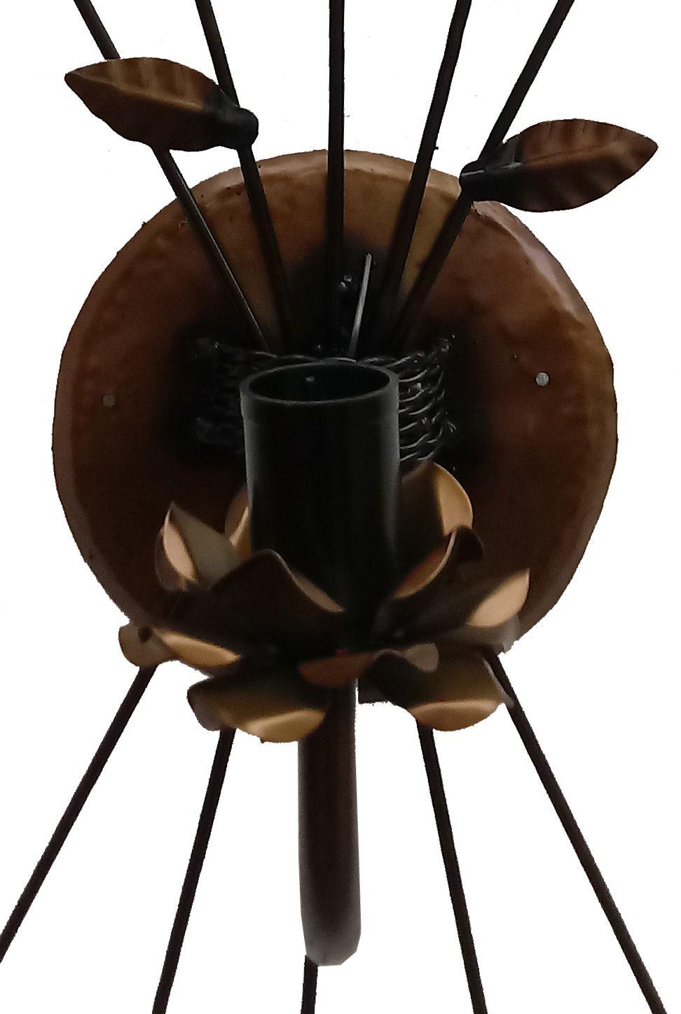 Arandela de Fabricante de Arte em Ferro Minas Gerais para Sala de Jantar