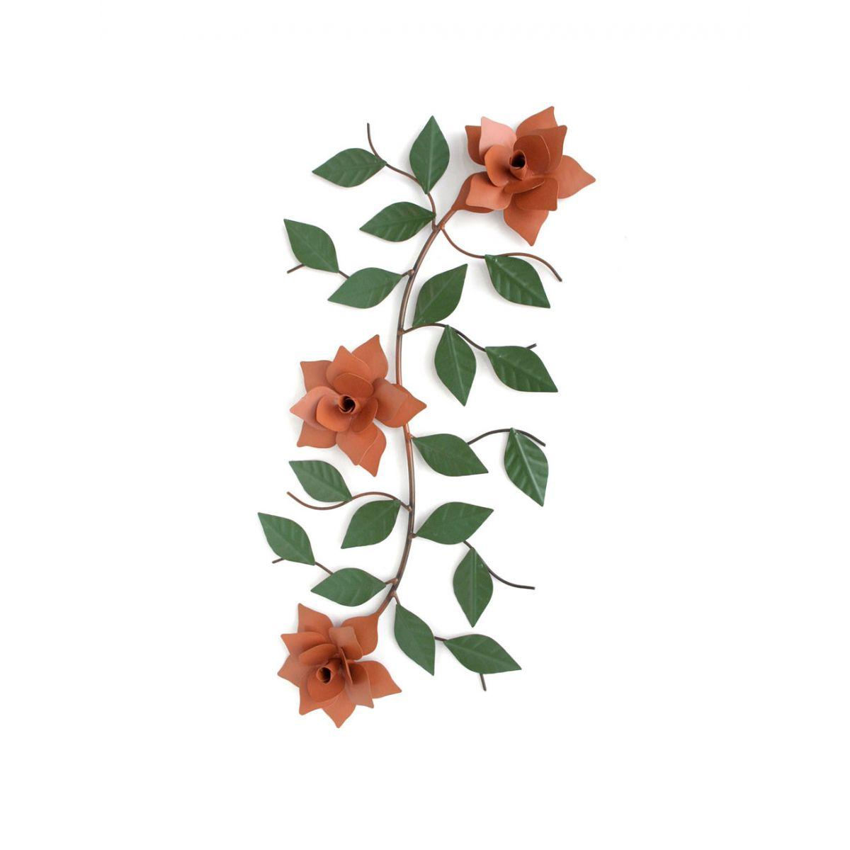 Moldura Quadro Para Cozinha Decorativo Com Flores Coloridas