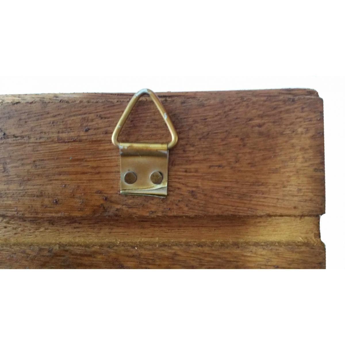 Cabide Artesanal com Madeira Pendurador de Roupas e Toalhas Gancho
