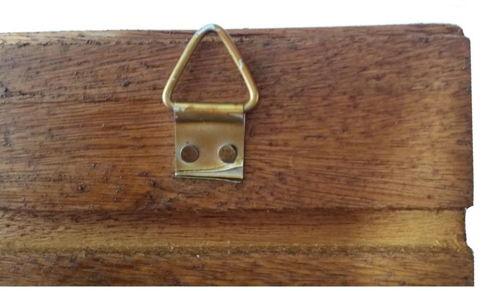 Cabide de Ferro Artesanal para Bolsas e Roupa para Parede Rustico