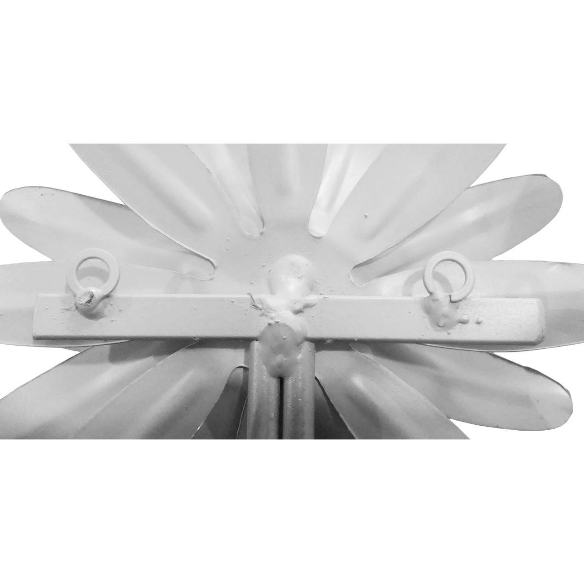 Cabideiro De Ferro para Bolsa Rústico Artesanal Gancho Flor Colonial