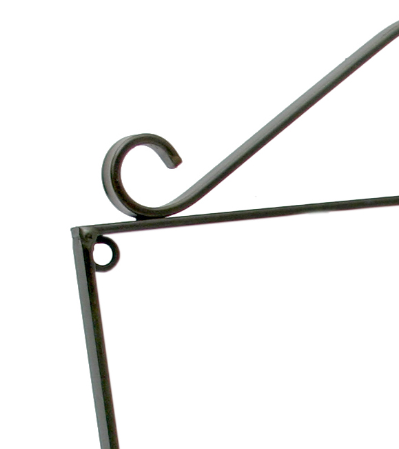 Cabide Porta Toalhas de Rosto para Banheiro de Parede com Flores de Ferro Artesanal