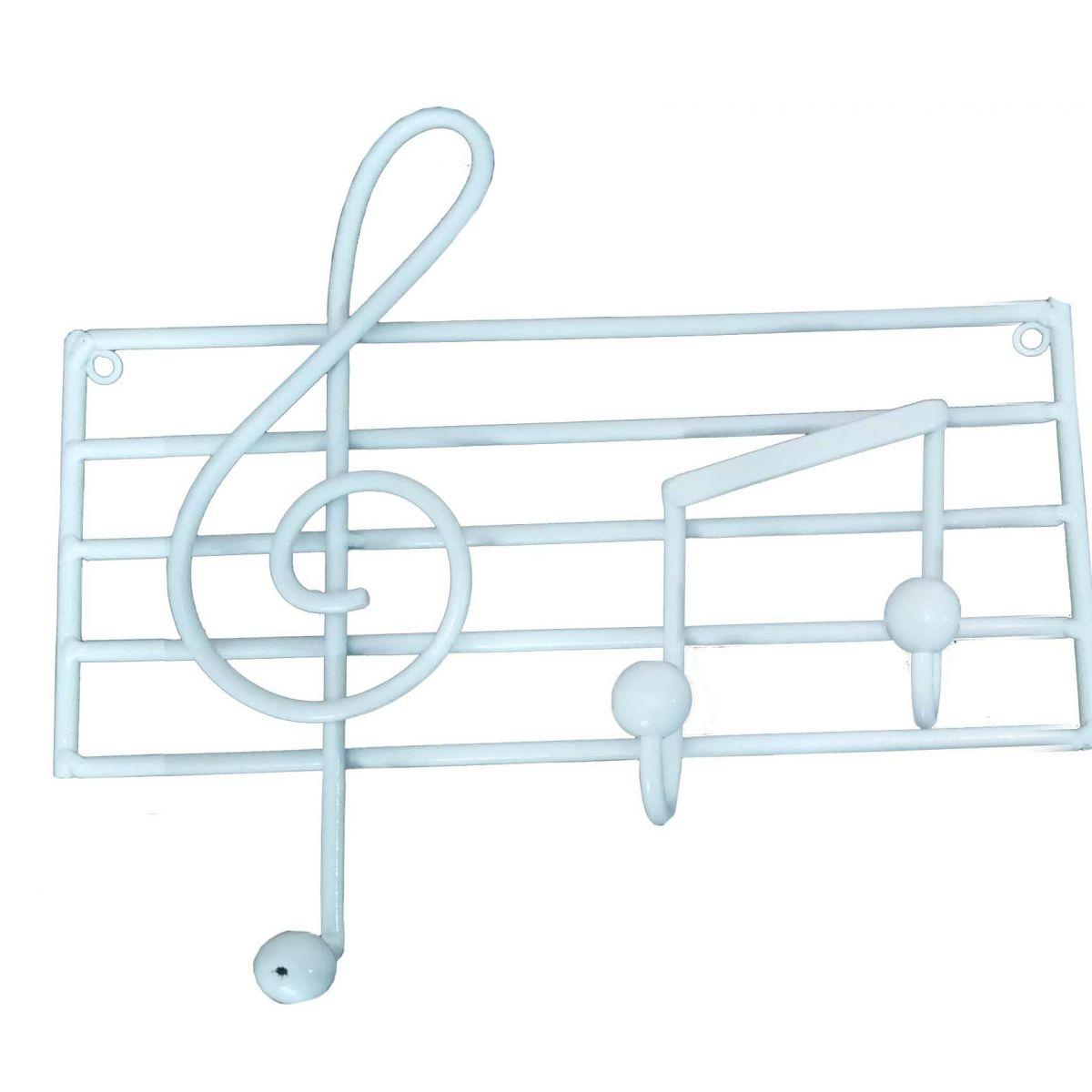 Cabide de Ferro para Bolsas Reforçado Artesanal Rustico de Musica