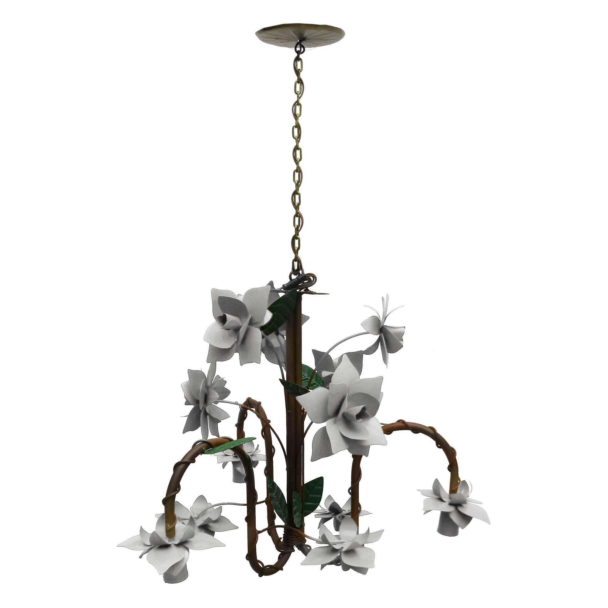 Luminária Para Cozinha Gourmet Iluminação de Area Externa Decorativa Ferro