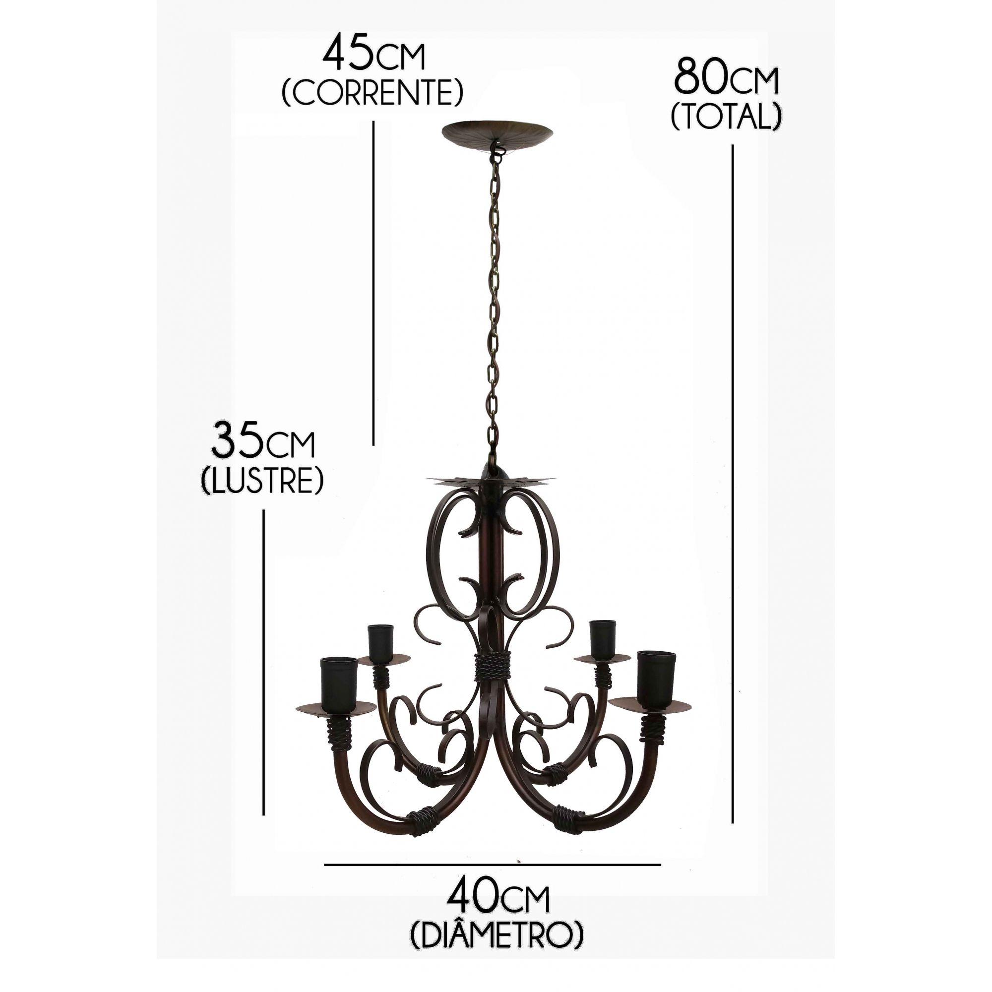 Luminária Rustica De Teto Pequena com Preço De Fabrica