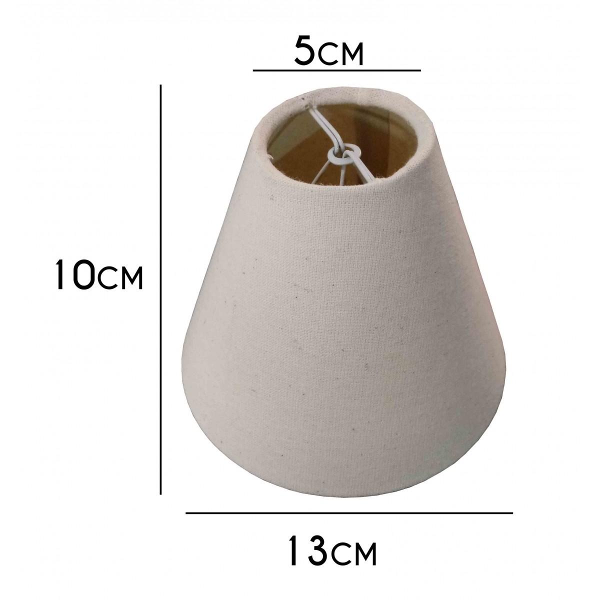 Cupula Para Lustre, Luminaria E Pendente Encaixe Na Lâmpada