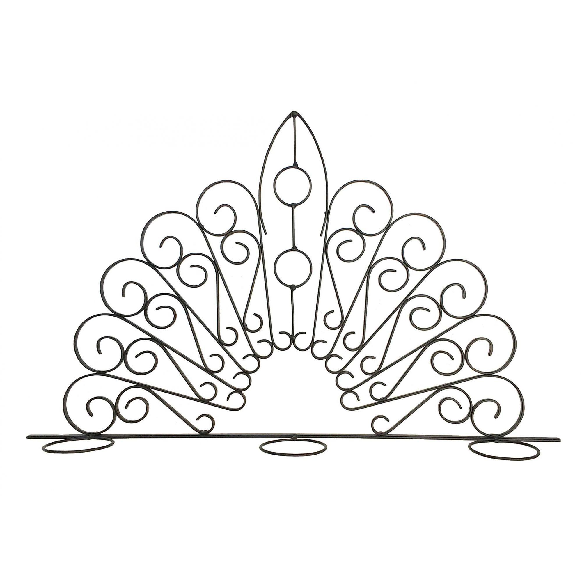 Floreira de Janela de Ferro Rustica Artesanal para Vasinhos de Flor