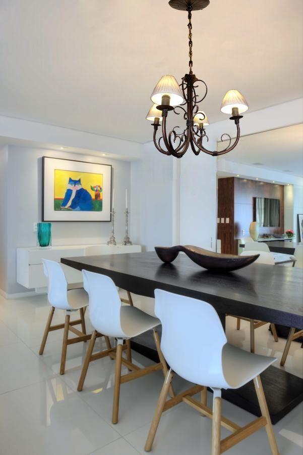Luminaria de Ferro para Teto Apartamento Simples Decoração Moderna