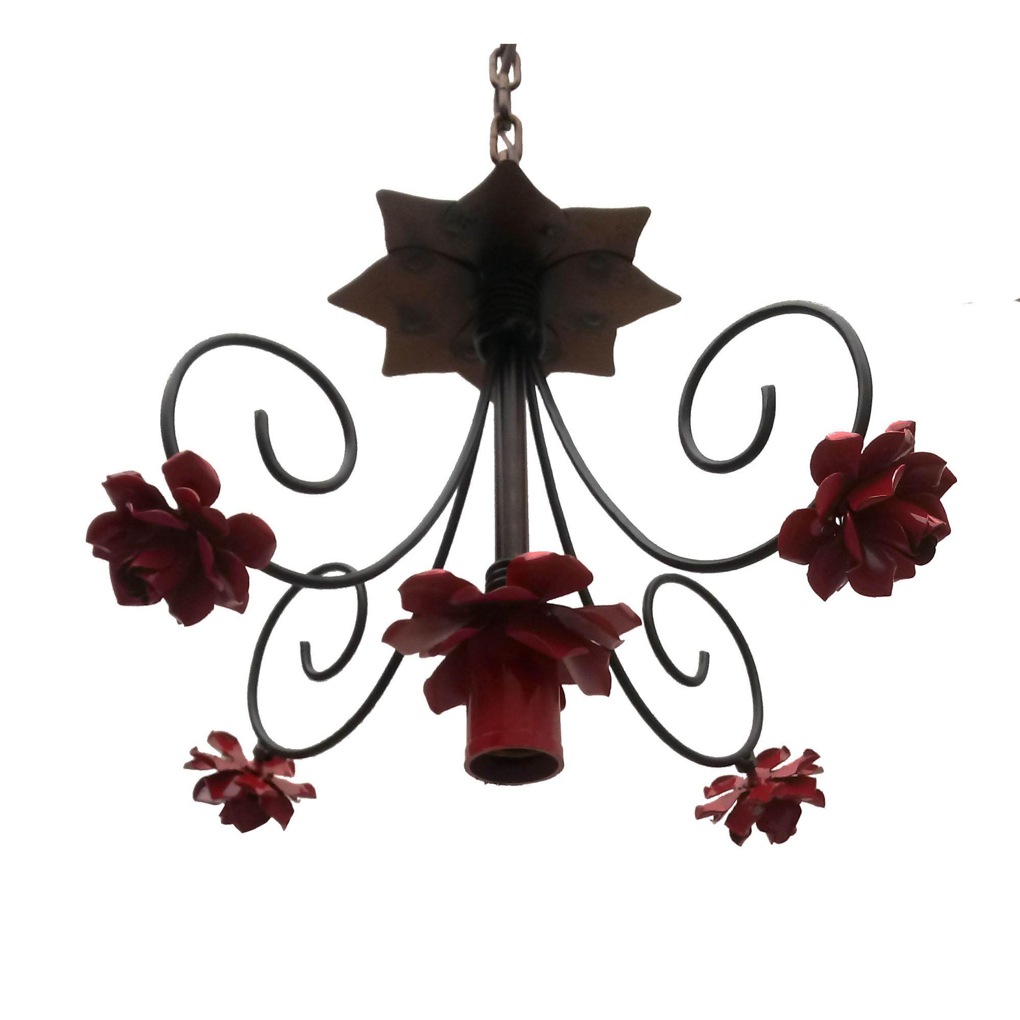 Luminaria De Flores Ornamental Moderna Para Decoração de Quarto de Criança
