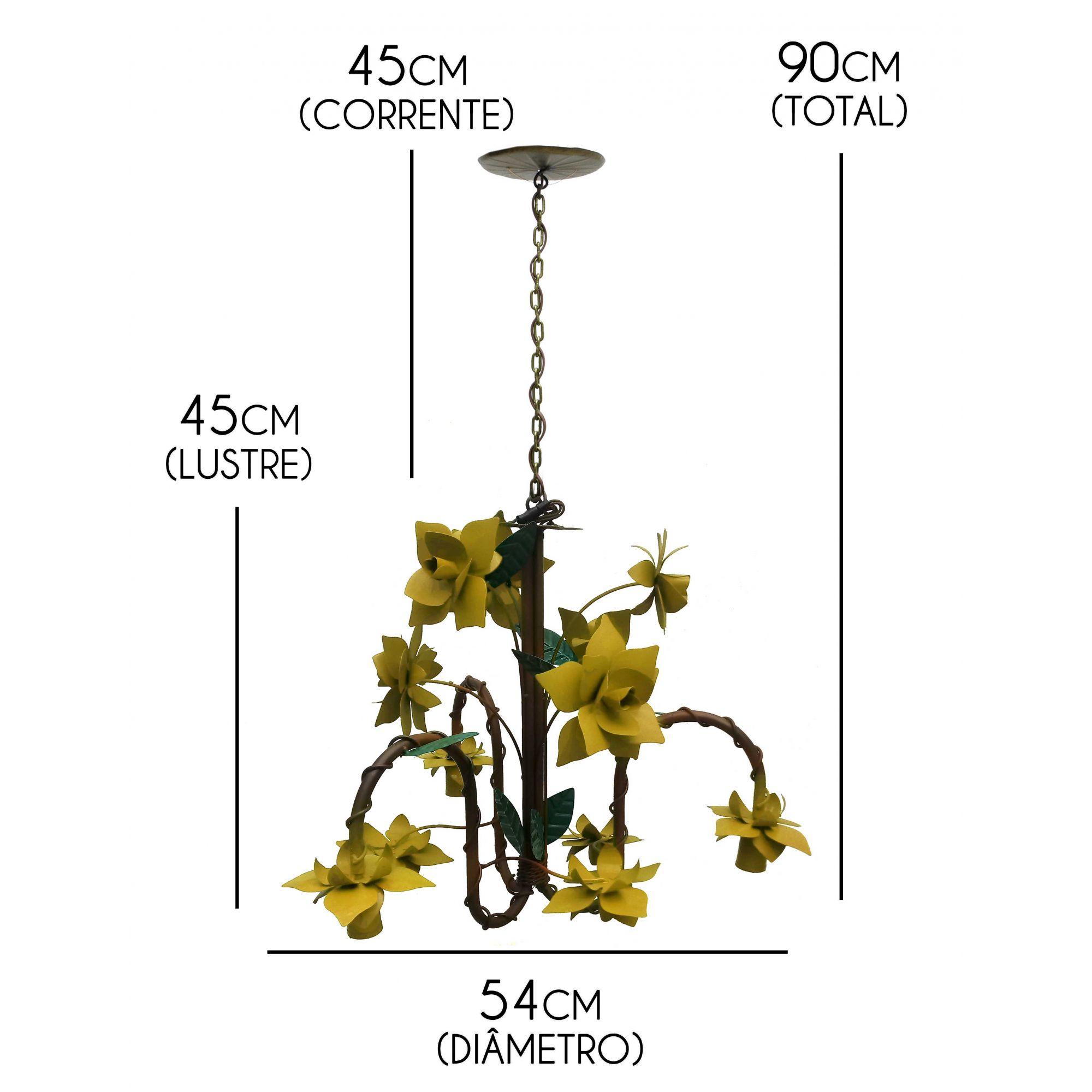 Luminária De Teto em Ferro Para Iluminação De Cozinha Provençal Gourmet