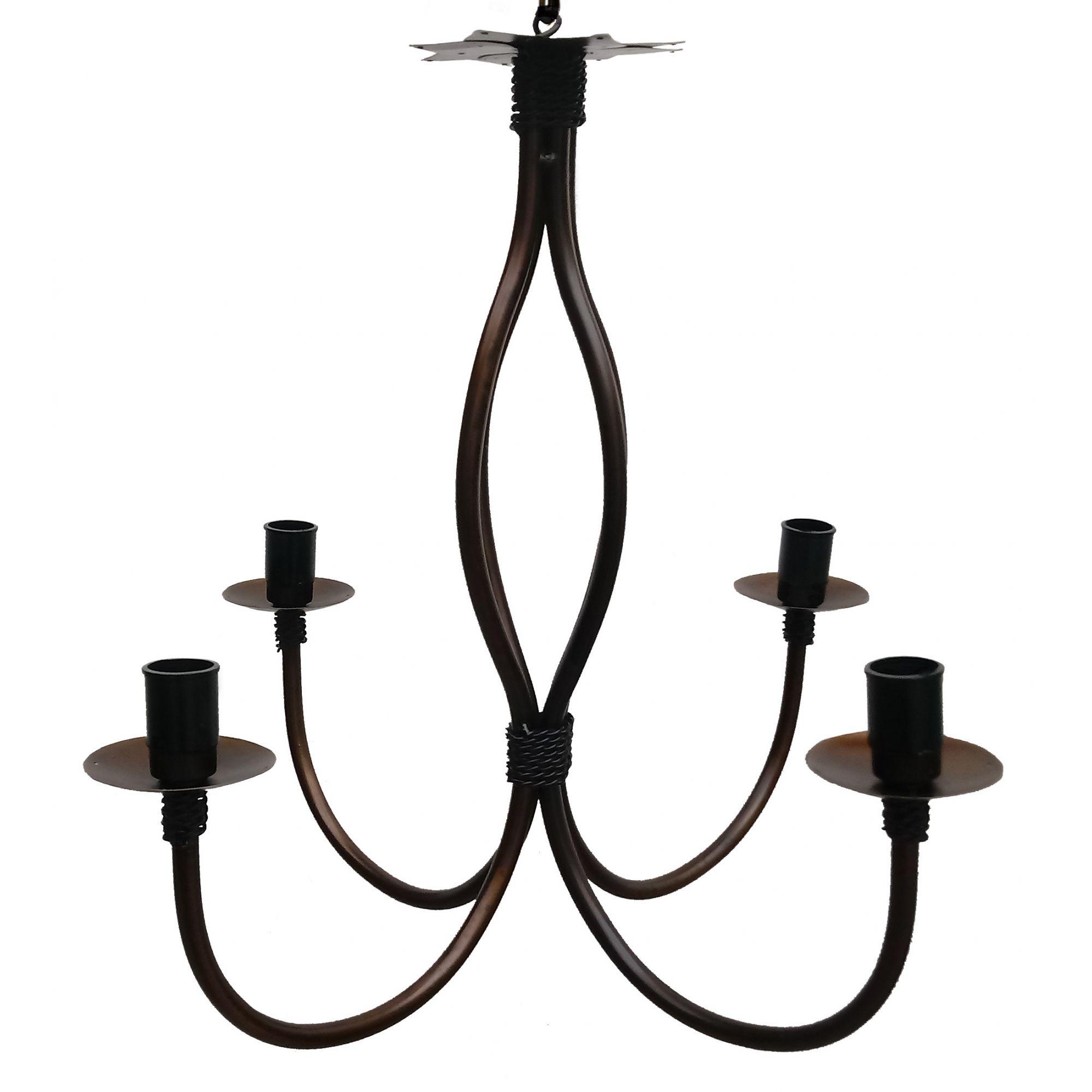 Luminaria De Teto Em Ferro Simples Decorativa para Cozinha Retro