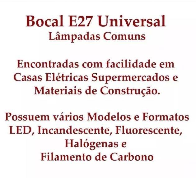 Luminária de Teto Artesanal em Ferro para Sala de Estar  04 Bocais E27