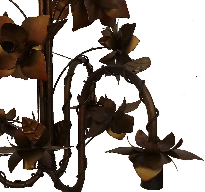 Luminaria para Decoração de Loja Lustre com Flores para Ambiente Moderno