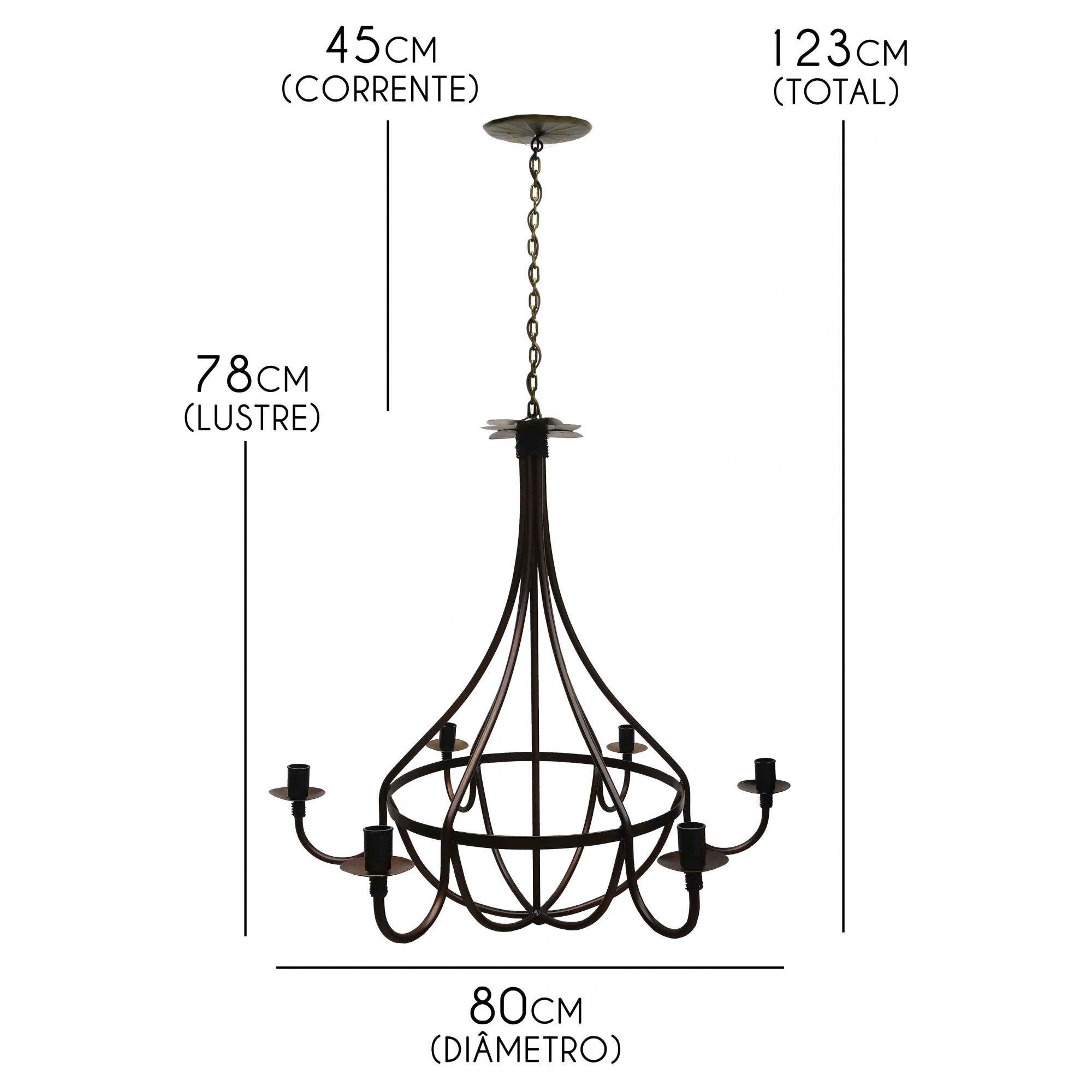 Luminaria para Sala Grande Decoração e Iluminação Artesanal Vintage