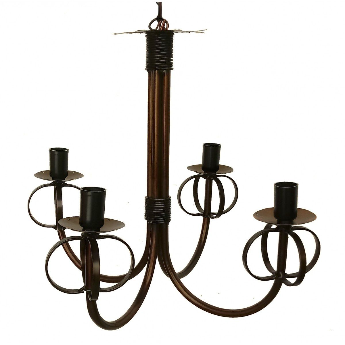 Luminária Simples De Ferro Barato Artesanal Para Quarto e Sala