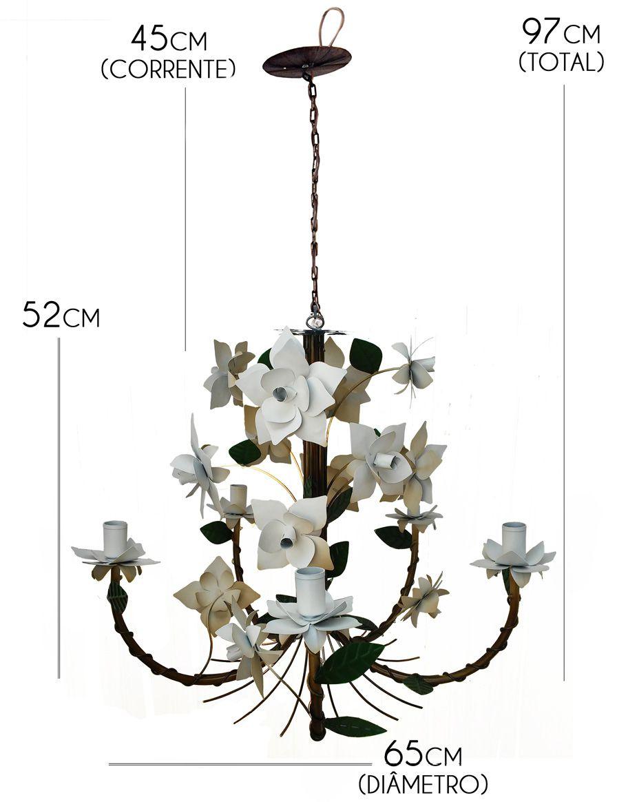 Luminária para Sala de Jantar em Ferro Rústica Artesanato Mineiro Fabricante