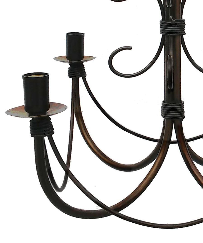 Lustre Artesanal ~ Lustre Rococo Simple Lustre En Bronze Dor Et Cisel De Feuillages Bras De Lumires With Lustre