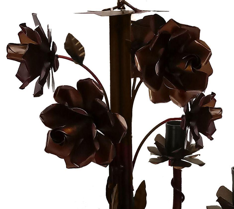 Lustre Decorativo com Lindas Flores para Decoração de Sala de Estar