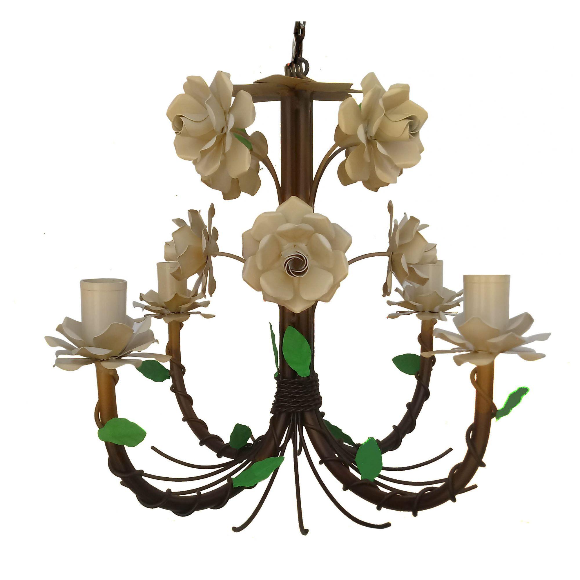 Lustre Ornamental Decorativo Para Sala de Estar Colonial Melhor Preço