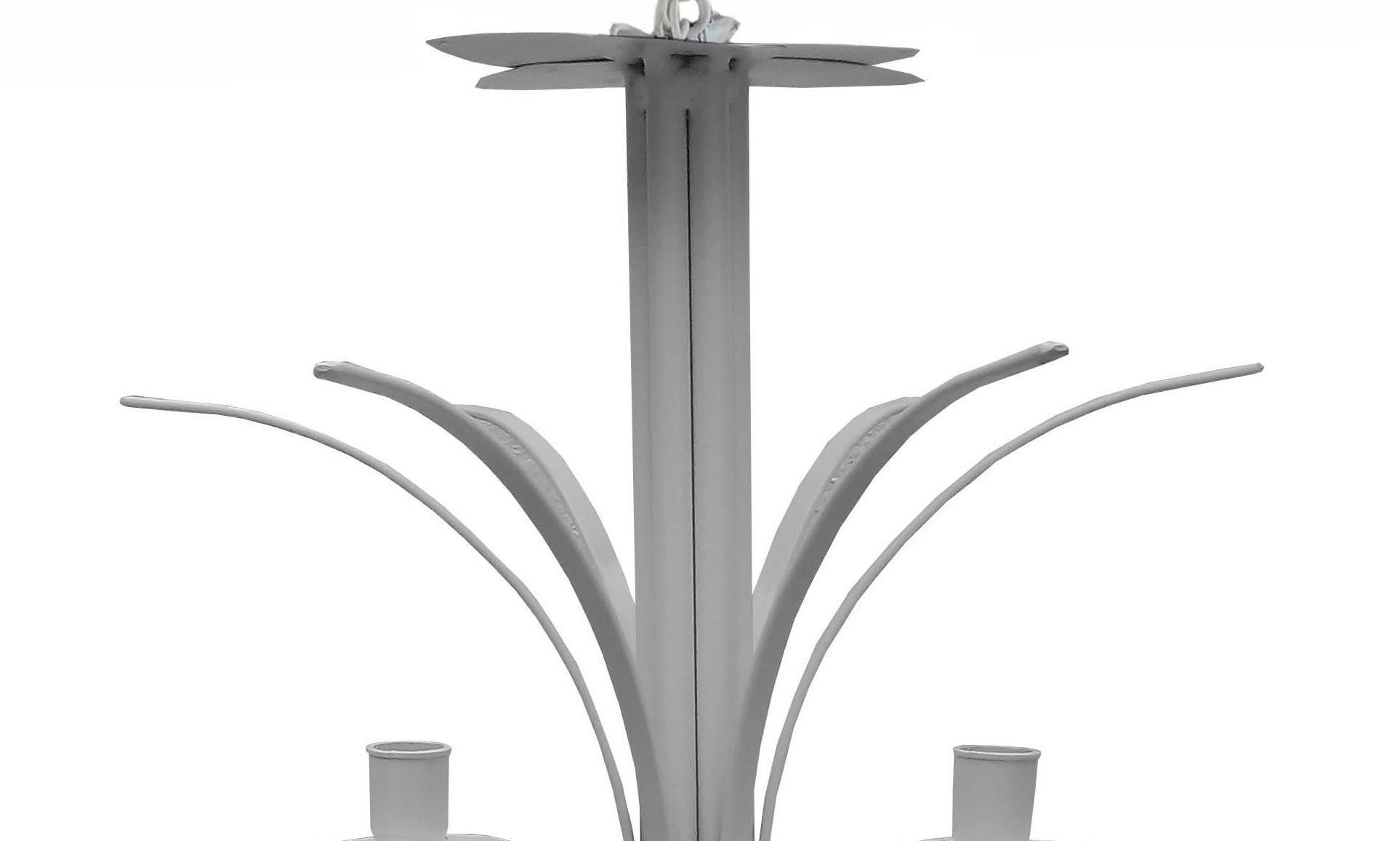 Lustre Pendente De Metal Provençal Para Quarto de Casal Moderno