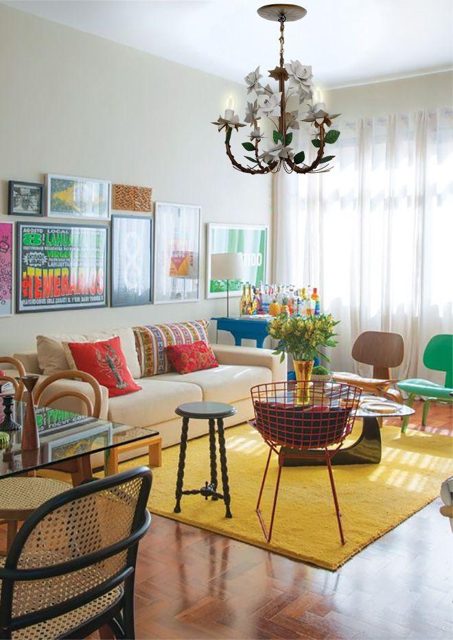 Lustre r stico para sala estar artesanal for Lustres para sala de estar