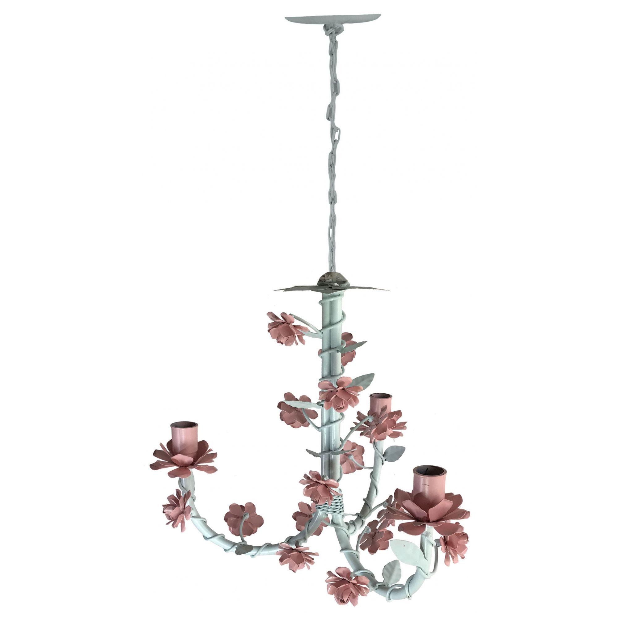 Lustre Simples Decorativo Infantil para Iluminação de Quarto Retro