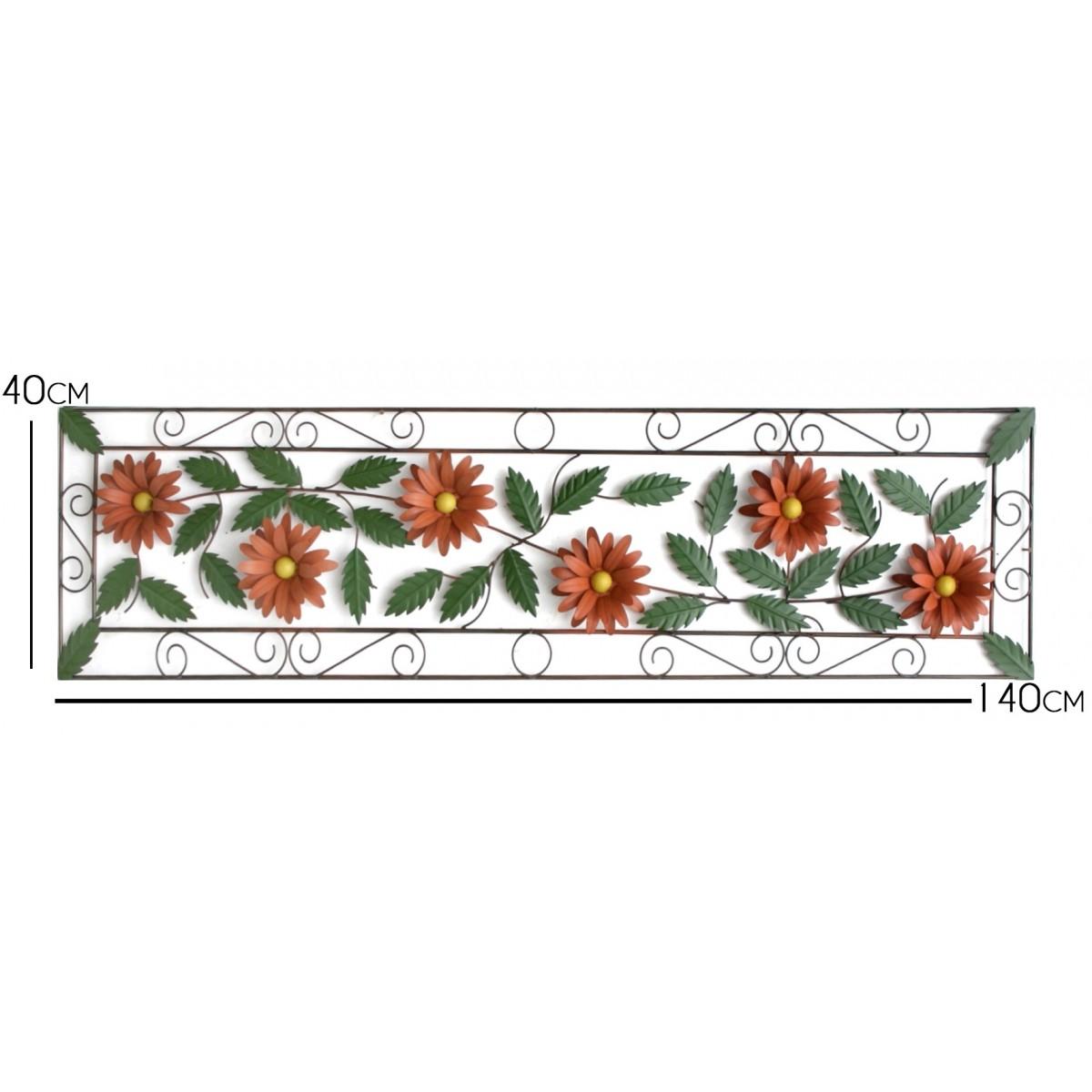 Moldura de Parede Rustica para Varanda Decorativo de Ferro