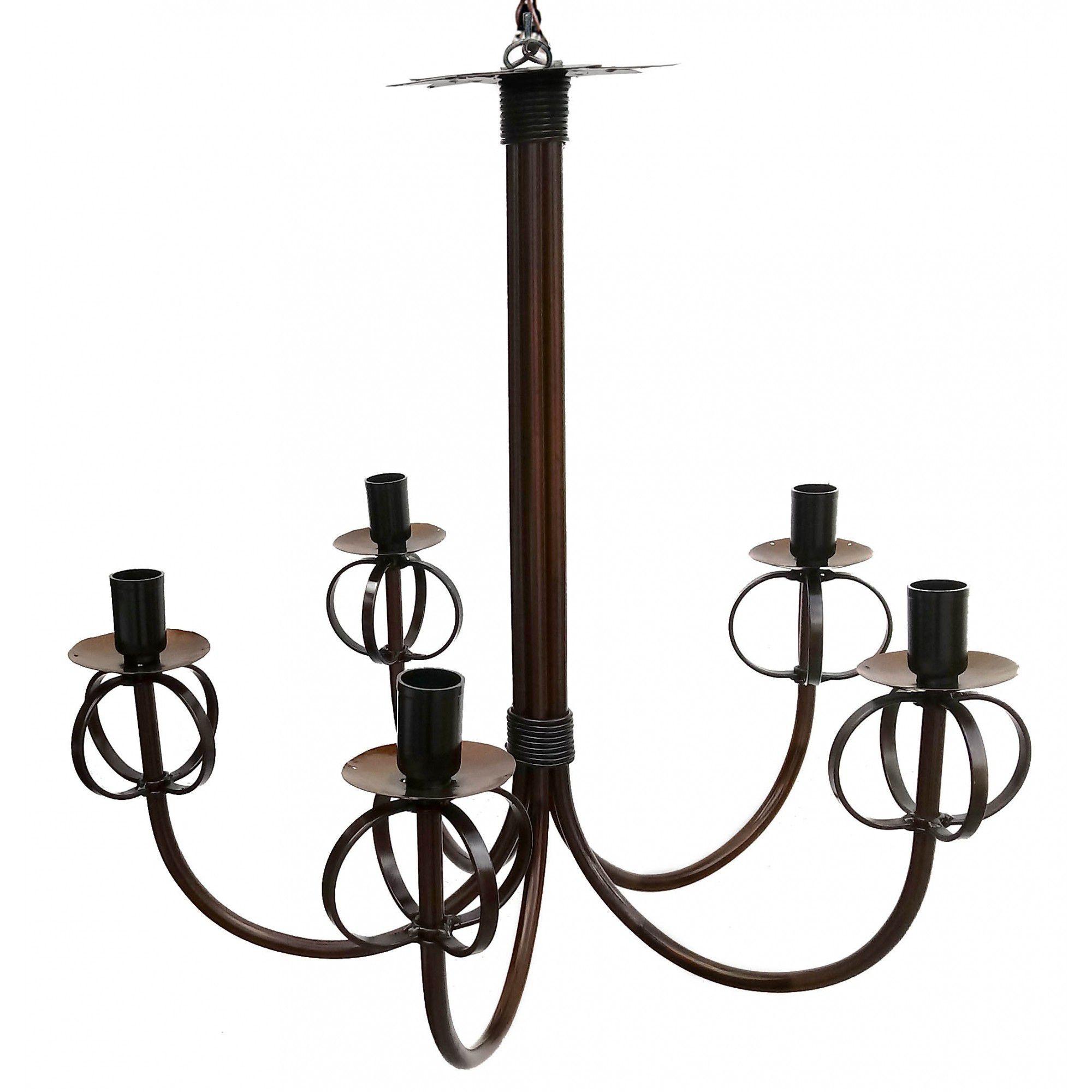 Pendente Moderno em Ferro Decorativo Iluminação Sala de Visitas