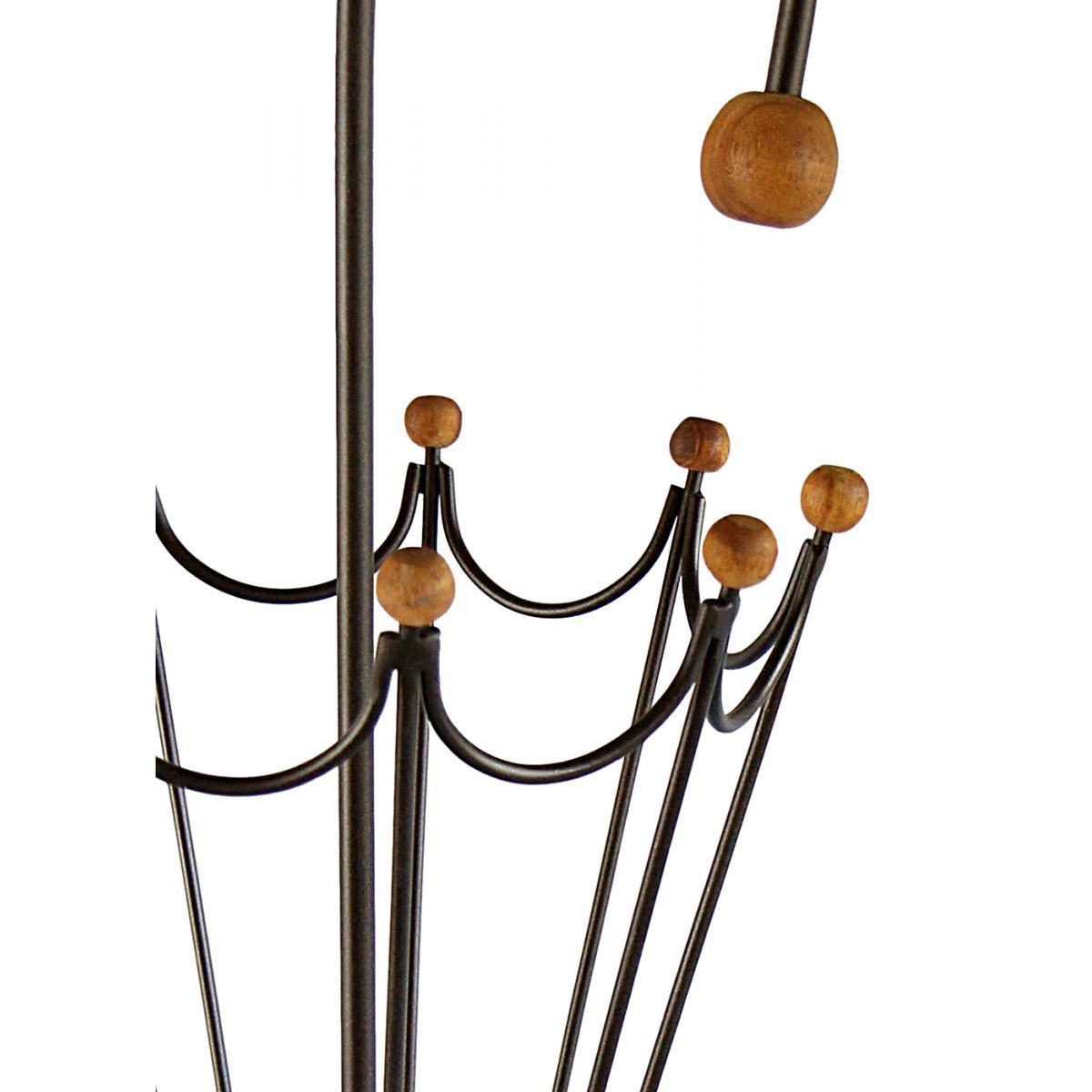 Suporte para Porta Guarda-Chuvas Artesanal de Metal Decorativo Sala