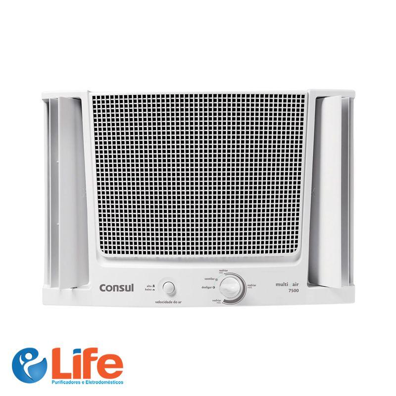 Ar Condicionado Consul Janela 7.500 BTUs Frio Eletrônico  -  Life Purificadores e Eletrodomésticos