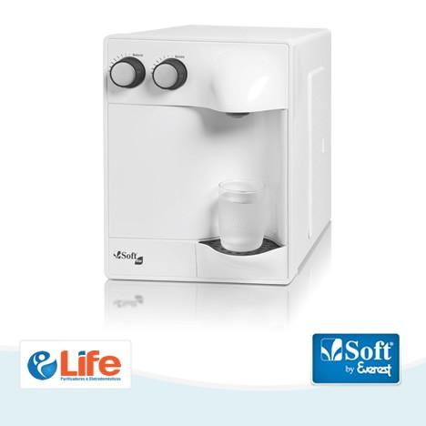 Purificador de Água Soft Slim Branco  -  Life Purificadores e Eletrodomésticos