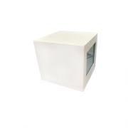 Arandela Cubo Alumínio Grande 2 fachos -  Alloy