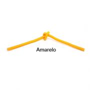 Cabo PP Revestido de Tecido Amarelo - 10 metros